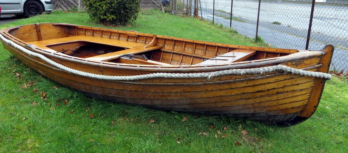ruderkahn fischerboot klinkerbaul360 x b150cm. Black Bedroom Furniture Sets. Home Design Ideas